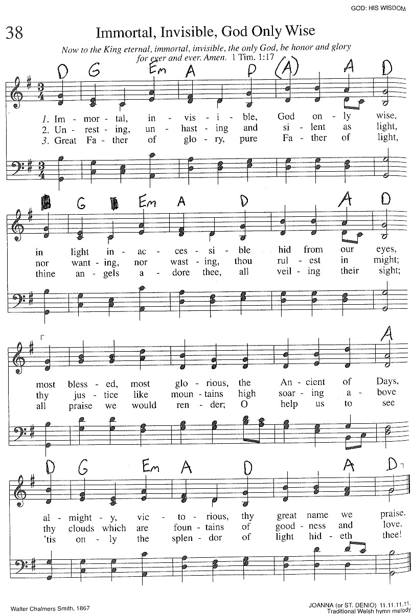 Index of publicdocstrinityhymnaltrinity hymnal guitar chords 038 immortal invi hexwebz Images