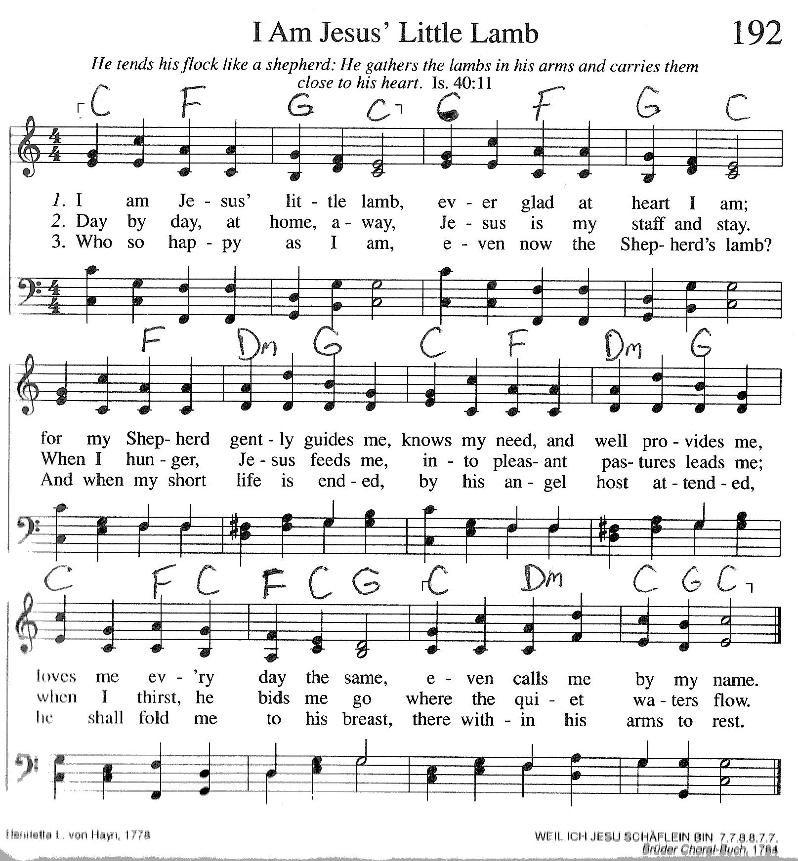 Index of publicdocstrinityhymnaltrinity hymnal guitar chords 192 i am jesus li hexwebz Choice Image