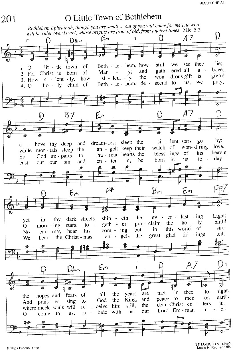Index of publicdocstrinityhymnaltrinity hymnal guitar chords 201 o little town hexwebz Image collections