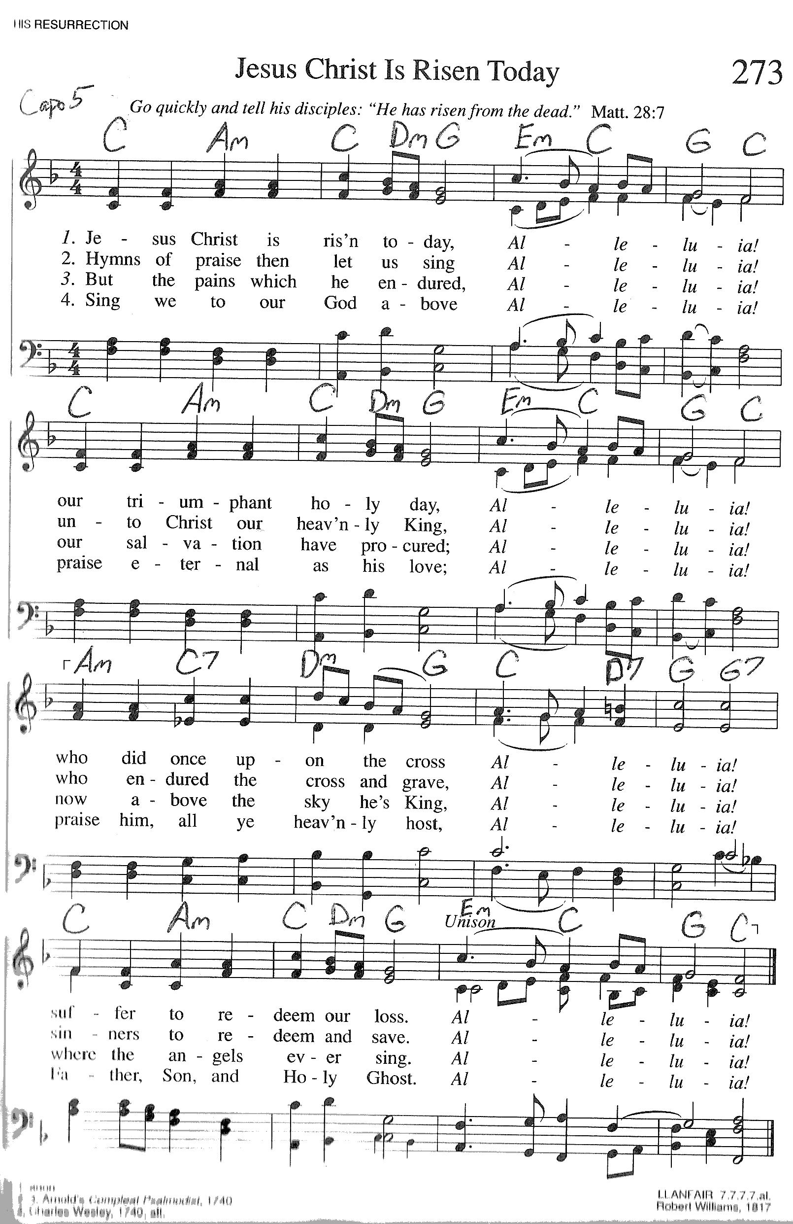 Index of publicdocstrinityhymnaltrinity hymnal guitar chords 273 jesus christ i hexwebz Choice Image
