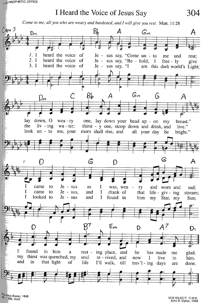 Index of publicdocstrinityhymnaltrinity hymnal guitar chords 304 i heard the vo hexwebz Choice Image