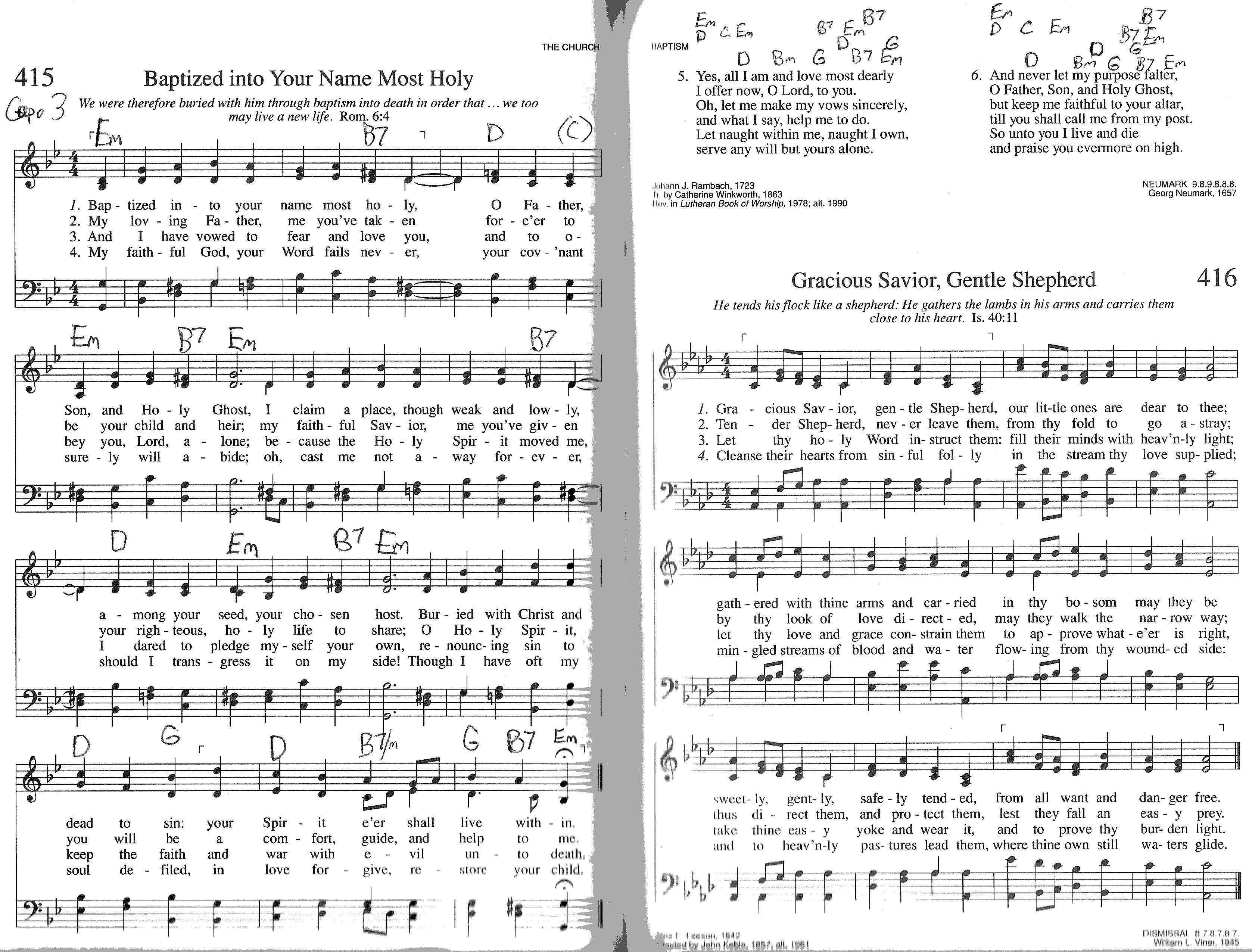 Index of publicdocstrinityhymnaltrinity hymnal guitar chords 415 baptized into hexwebz Choice Image
