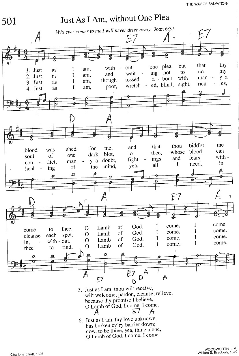 Index of publicdocstrinityhymnaltrinity hymnal guitar chords 501 just as i am hexwebz Image collections