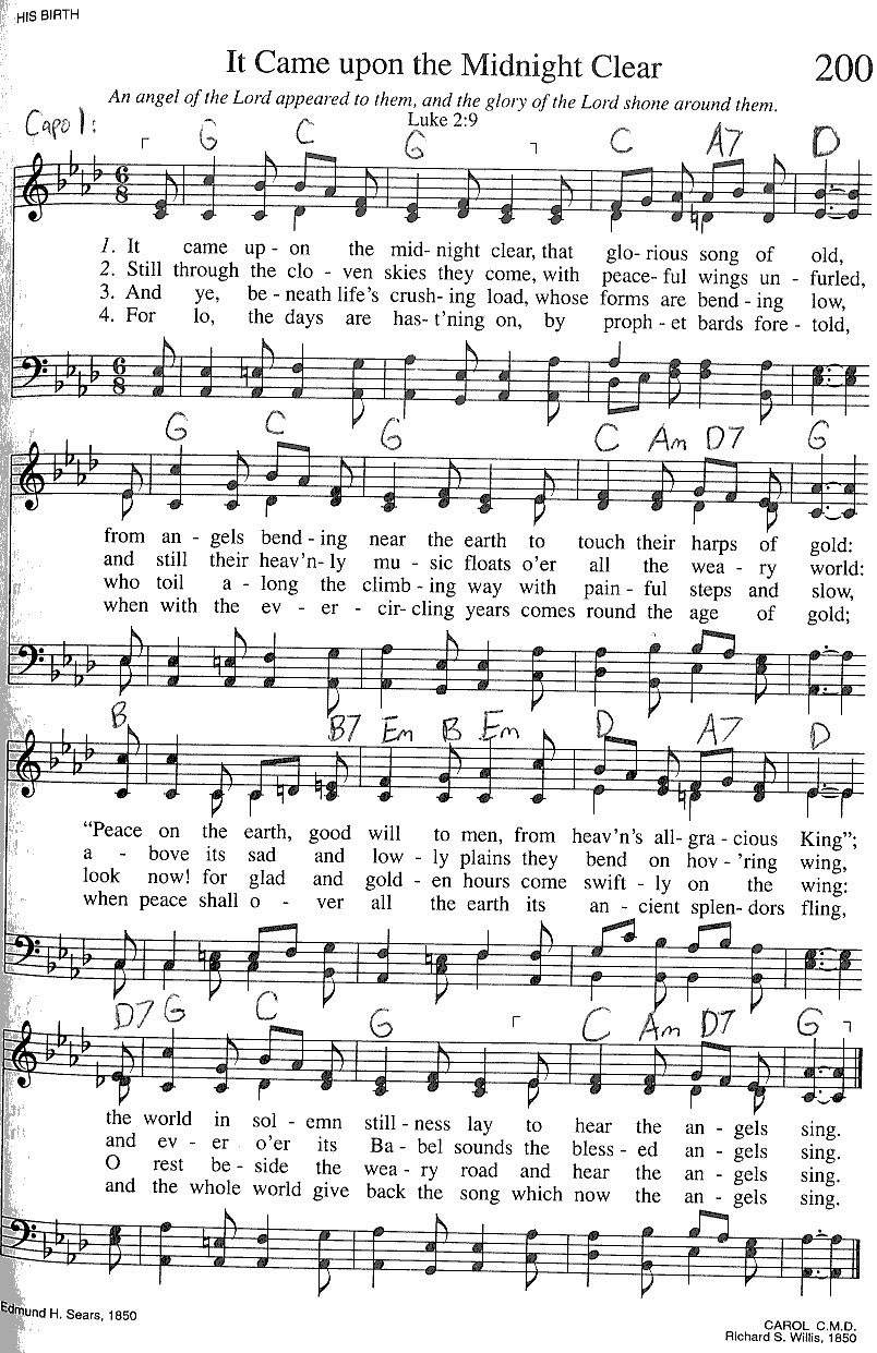 Index Of Publicdocstrinityhymnaltrinity Hymnal Guitar Chords