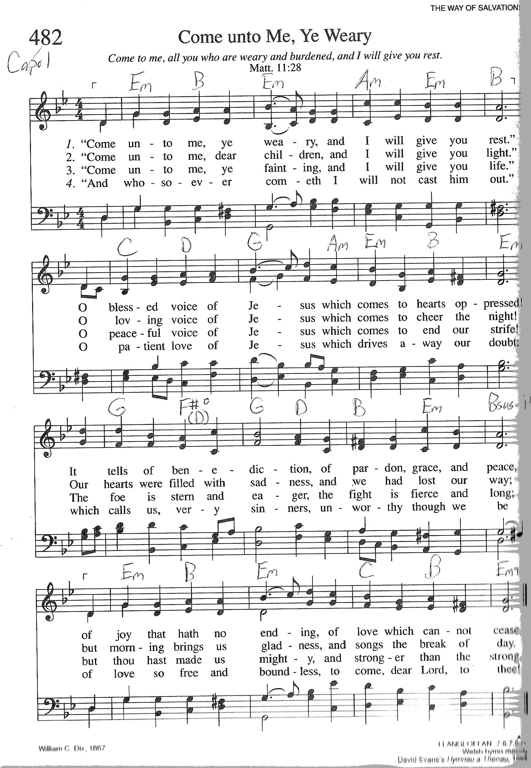 Index Of Publicdocstrinityhymnaltrinity Hymnal Guitar Chords
